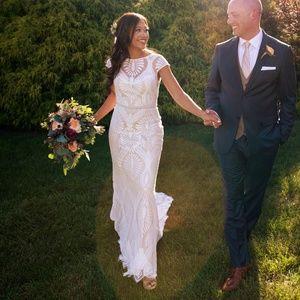 Size 0 BHLDN Ludlow Wedding Dress